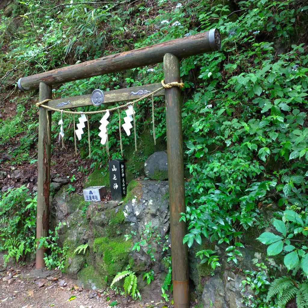 玉置神社の道中